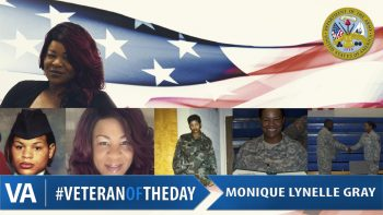 Monique Lynelle Gray - Veteran of the Day