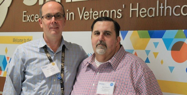 Image: VA Chaplains Kerry Haynes and Ryan Wagers