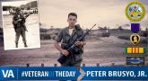 Peter Brusyo Jr - Veteran of the Day