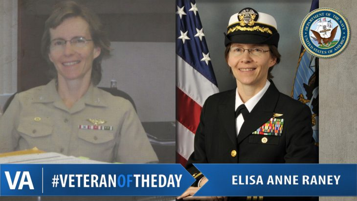 #VeteranOfTheDay is Navy Veteran Elisa Anne Raney