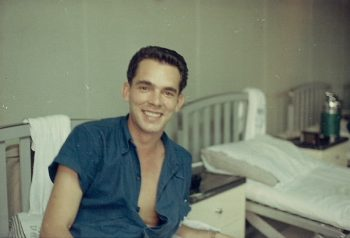 IMAGE: Peter Brusyo Jr. in Vietnam