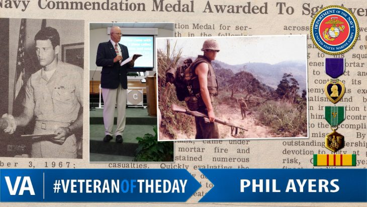 Phil Ayers - Veteran of the Day