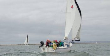 Image of a group sailing