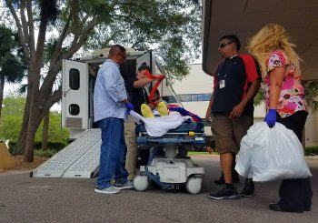 Bay Pines Patient transfer