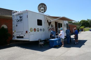 Beaumont Mobile Vet Center Harvey Response