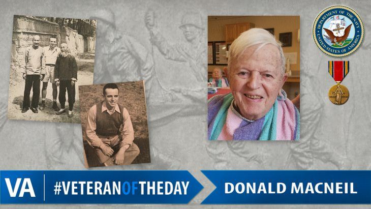 Donald MacNeil - Veteran of the Day
