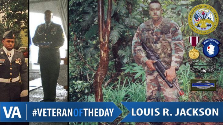 #VeteranOfTheDay Louis Jackson