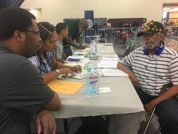 MEDVAMC Homeless Veterans Program_Harvey Response