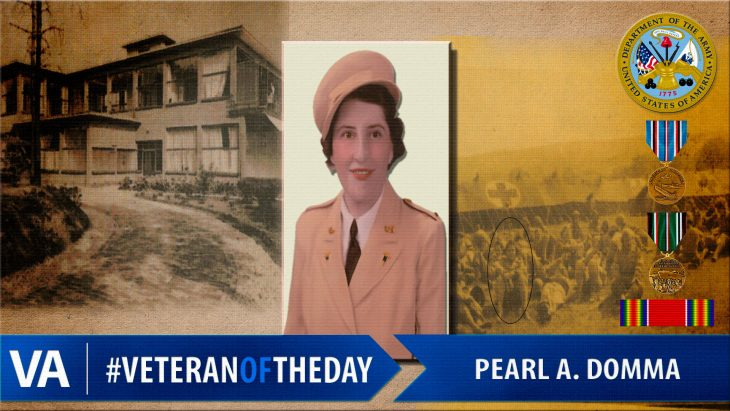 Pearl A. Domma - Veteran of the Day