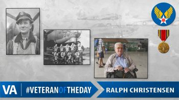 Ralph Christensen - Veteran of the Day