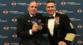 IMAGE: Rory Cooper with the with SgtMaj of Army.