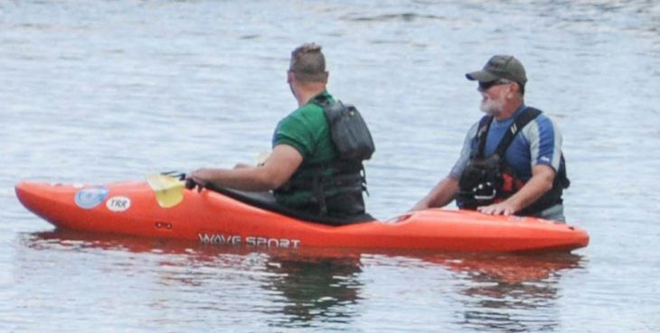 Veterans kayak Mission Bay during VA's Summer Sports Clinic