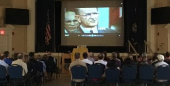 IMAGE: Louisiana Public Broadcasting hosted a free preview screening of The Vietnam War for Veterans and staff at the Alexandria VA Medical Center Auditorium in Pineville, Louisiana.