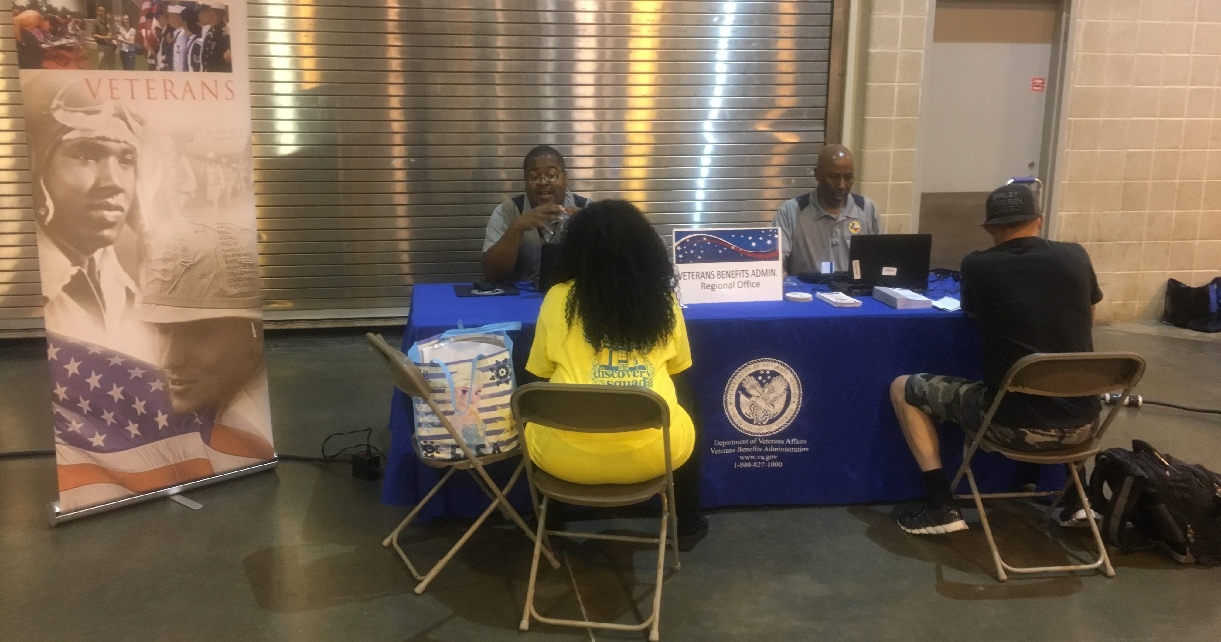 Houston team connects with Veterans to deliver VA benefits despite