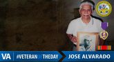 Jose Alvarado - Veteran of the Day