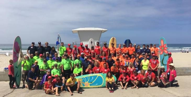 Veterans take to the waves at VA's Summer Sports Clinic in San Diego