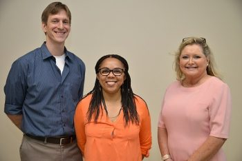 Psychologist Walter Ware and Senior Social Workers Angela Taylor and Pamela Rawdon,  mental health providers in the Savannah VA Outpatient Clinic STAR program