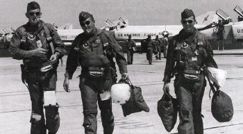 Capt. Richard P. Keirn, (Middle) Twice a POW