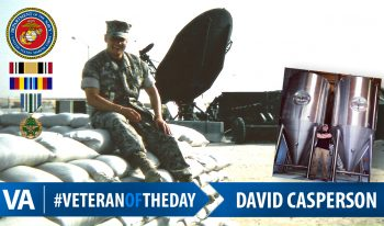David Casperson - Veteran of the Day