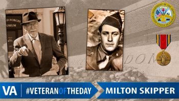 Milton Skipper - Veteran of the Day
