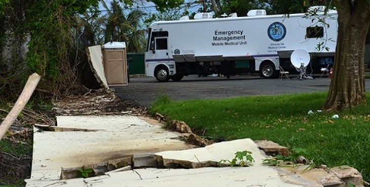 Mobile medical unit brings much needed care to storm-ravaged Puerto Rico