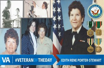 Edith Rene Porter-Stewart - Veteran of the Day
