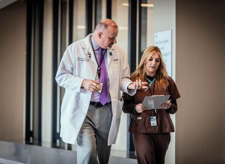 Working here comes with many advantages, including access to outstanding leaders who share your commitment to clinical excellence.