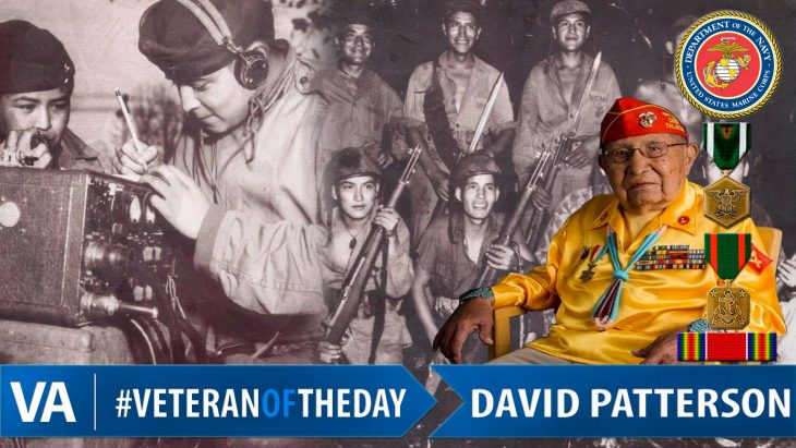 David Patterson - Veteran of the Day