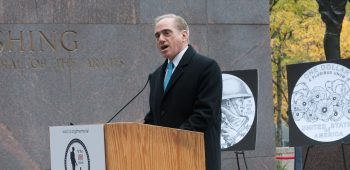 Shulkin at WWI Memorial groundbreaking