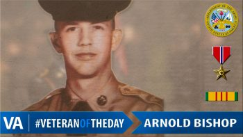 Arnold Bishop - Veteran of the Day