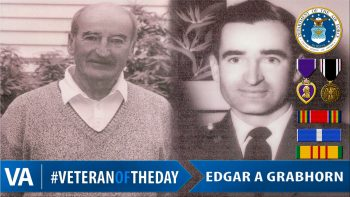 Edgar Grabhorn - Veteran of the Day
