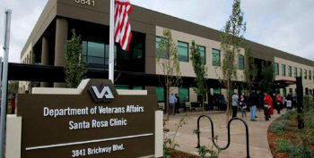 IMAGE: Santa Rosa VA Clinic sign