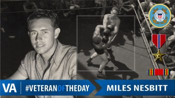 Miles Nesbitt - Veteran of the Day