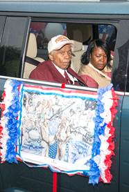 Image: Oscar C. Gadson Jr in the parade