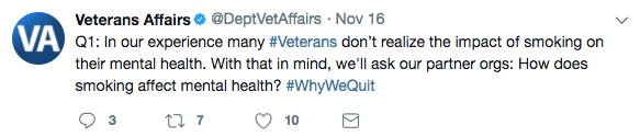 IMAGE: #WhyWeQuit screen capture
