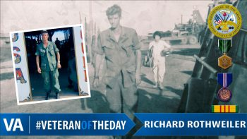 Richard Rothweiler - Veteran of the Day