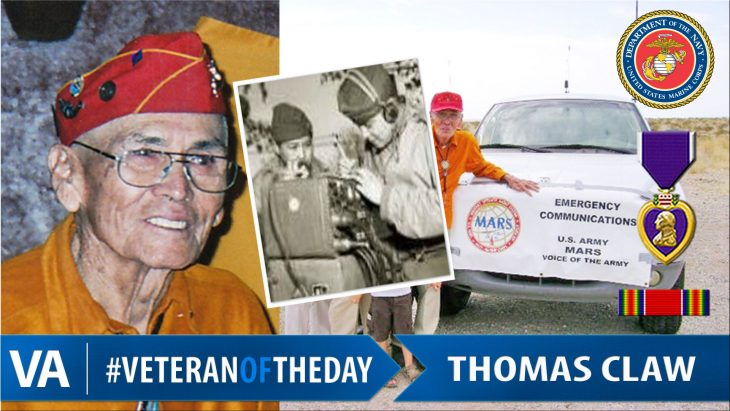 Thomas Claw - Veteran of the Day