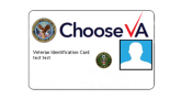 Image: Test sample of the Veterans ID Card