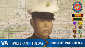 Robert Pahcheka - Veteran of the Day