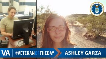 Ashley Garza - Veteran of the Day