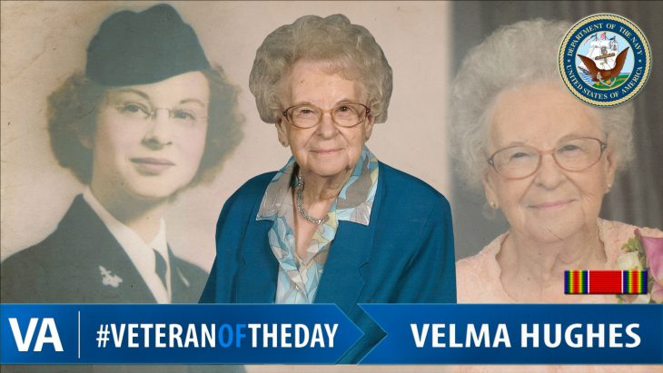 Velma Hughes - Veteran of the Day