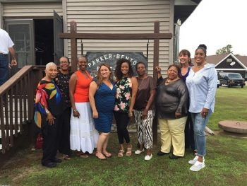 Female Veteran Group Retreat members.
