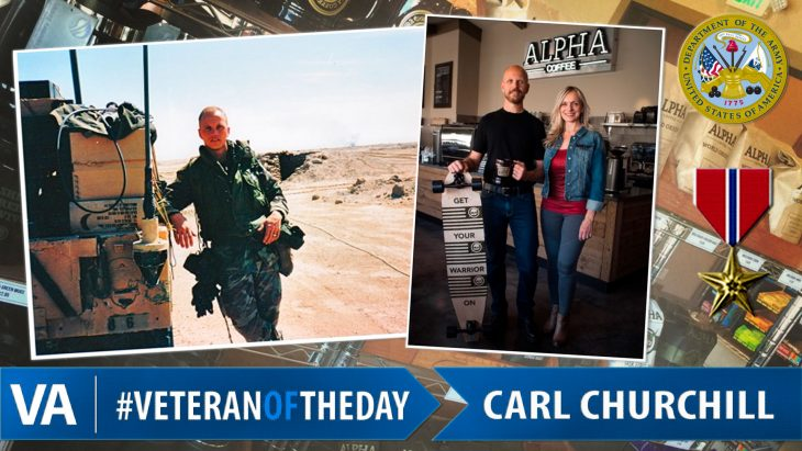 Carl Churchill - Veteran of the Day