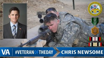 Chris Newsome - Veteran of the Day