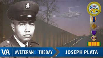 Joseph Plata - Veteran of the Day
