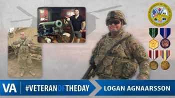 Logan Agnaarsson - Veteran of the Day