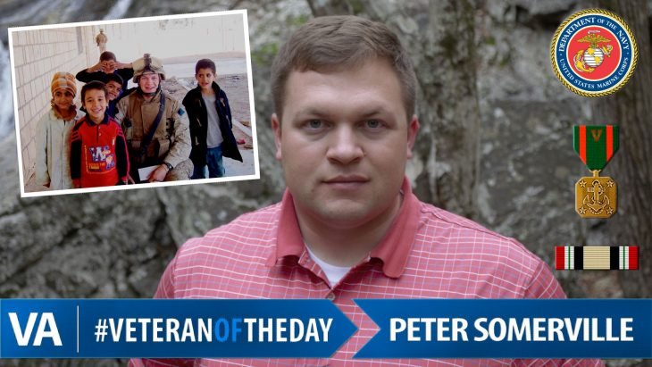 Peter Somerville - Veteran of the Day