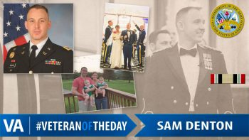 Sam Denton - Veteran of the Day