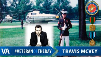 Travis McVey - Veteran of the Day