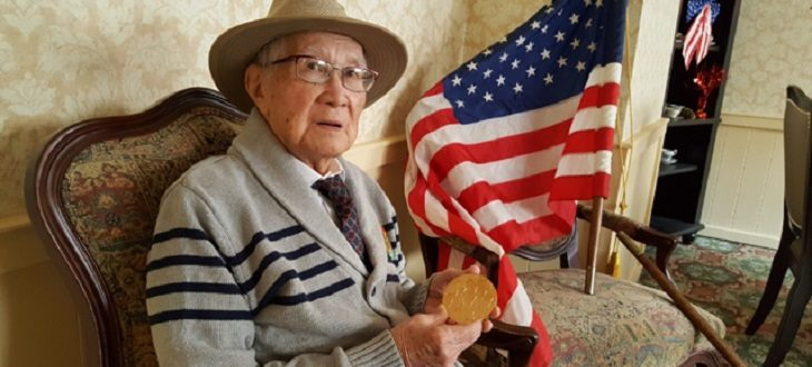 Image: November 10, 2017 Ante was awarded the Congressional Gold Medal